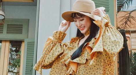 Dien thoi trang hoa la, Angela Phuong Trinh duoc khen xinh dep hinh anh