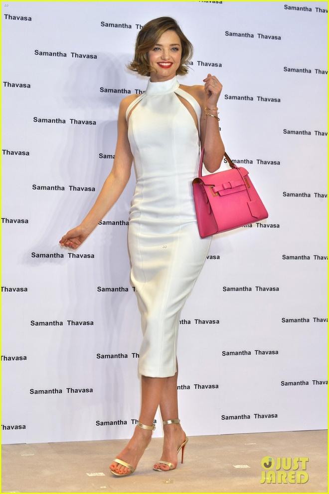 Miranda Kerr mac vay trang anh 7