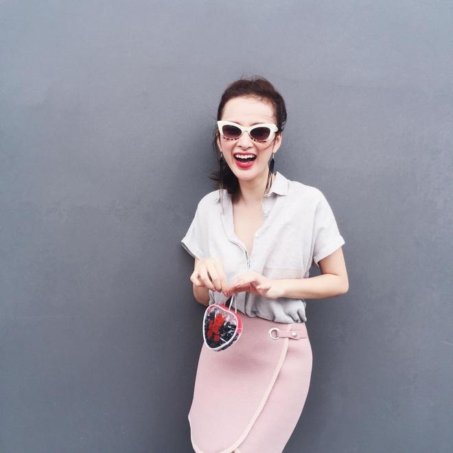 Angela Phuong Trinh 'nghien' mac so mi xuong pho hinh anh 10