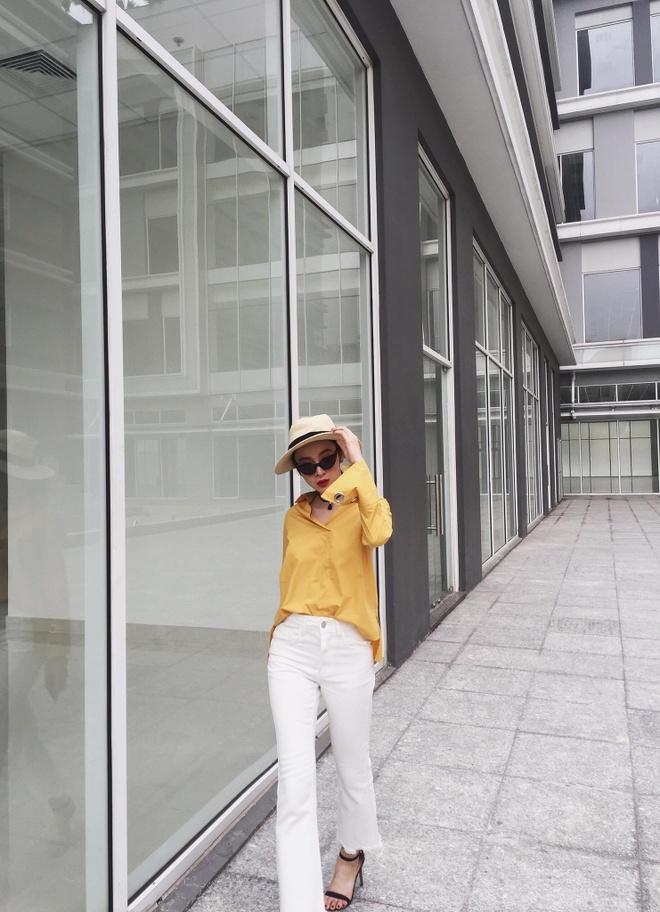 Angela Phuong Trinh 'nghien' mac so mi xuong pho hinh anh 7