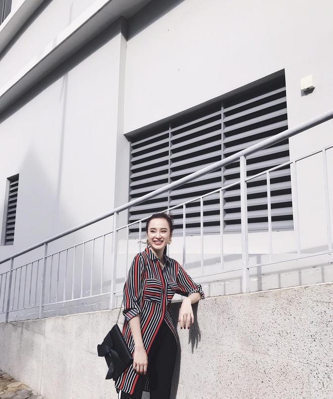 Angela Phuong Trinh 'nghien' mac so mi xuong pho hinh anh 8