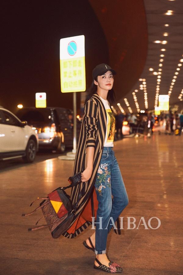 Ly Bang Bang, Tran Khon phoi ao khoac dang dai nhu the nao? hinh anh 1