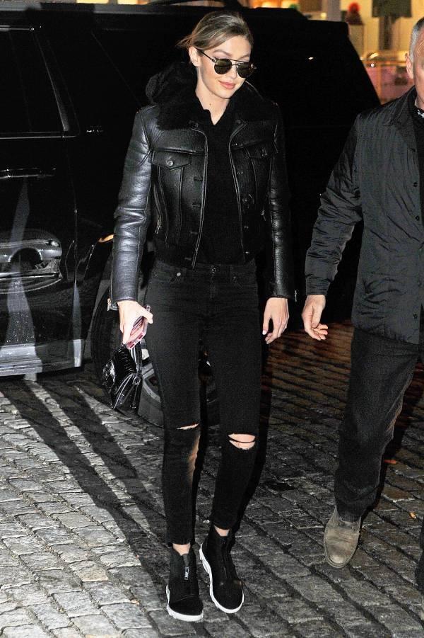 Tu do toan quan jeans lung sanh dieu cua Gigi Hadid hinh anh 6