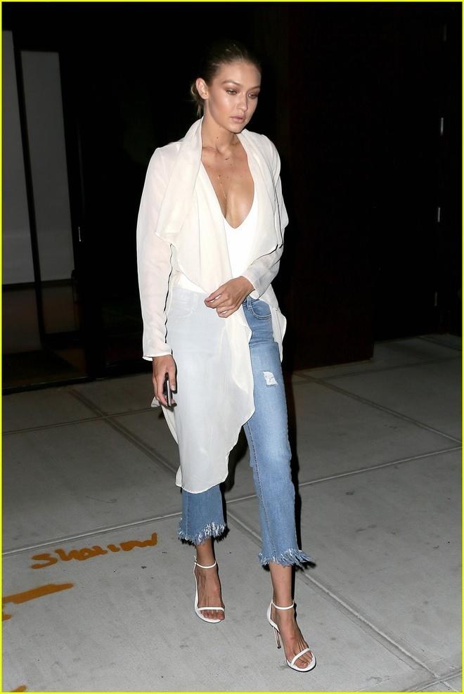 Tu do toan quan jeans lung sanh dieu cua Gigi Hadid hinh anh 10