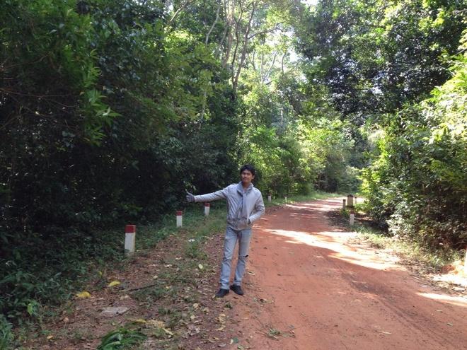Ky niem hao hung khi o thien duong Phu Quoc hinh anh 8 Giữa rừng nguyên sinh đảo ngọc...