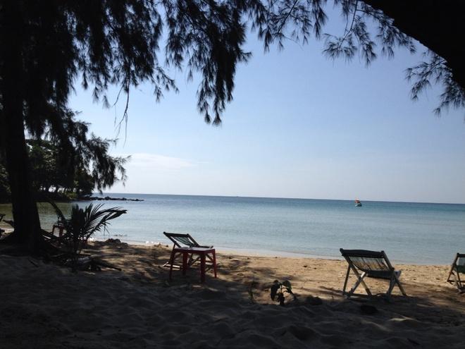 Ky niem hao hung khi o thien duong Phu Quoc hinh anh 9 Thư giãn trên biển Gành Dầu hoang sơ