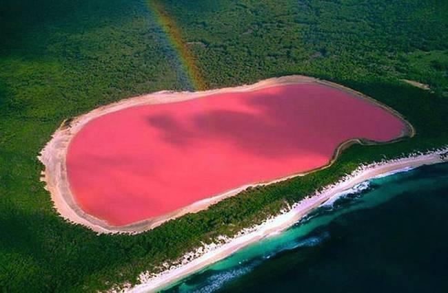 Nhung dia danh dep toi muc kho tin hinh anh 1 Hồ Hillier: Màu sắc của chiếc hồ nằm ở miền tây nước Úc này là hoàn toàn tự nhiên, không thay đổi khi vận chuyển ra nơi khác. Tắm trong hồ này rất có lợi cho sức khỏe con người.