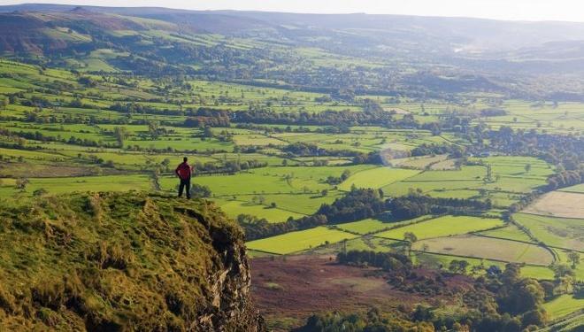 Vùng The Peak District, hạt Derbyshire, Anh
