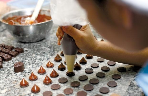 Chocolate 'Made in Vietnam': San nha khong ngot ngao hinh anh