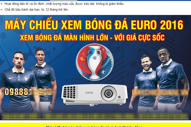 may chieu,  Euro,  bong da,  dat hang,  Sai Gon,  TP HCM anh 2