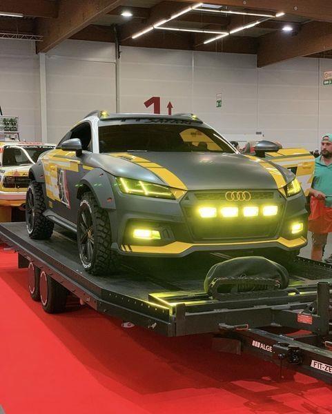 Can canh 'chien binh sa mac' Audi TT Safari hinh anh 1