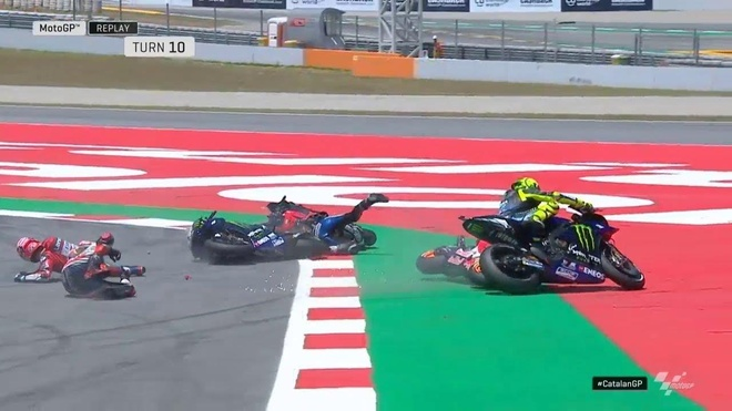 Moto GP chang 7 - Jorge Lorenzo gay tai nan lien hoan, Marquez vo dich hinh anh 2