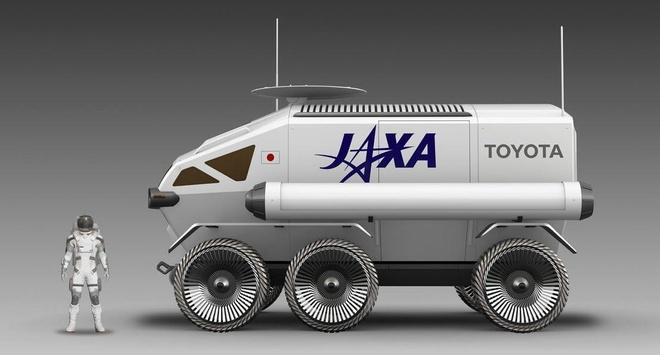 Toyota phat trien xe tu hanh su dung tren mat trang hinh anh 2