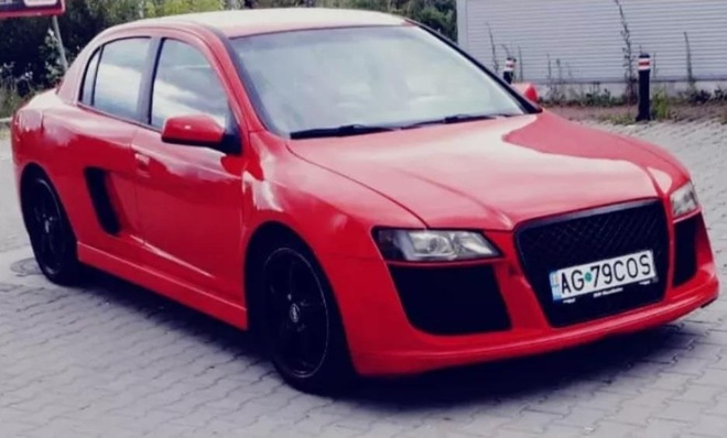 'Xe co' do kieu dang giong sieu xe Audi R8 hinh anh 1