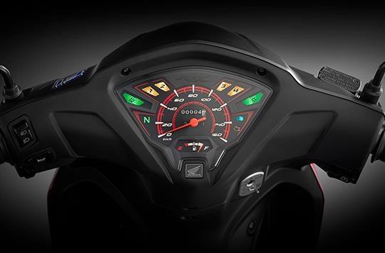 Honda ra mat Wave RSX FI 110 2019 - doi thiet ke, bo cong tac den hinh anh 5