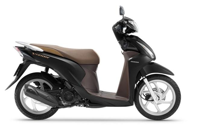 Honda Vision Ra Mắt Phiên Bản Mới Thêm Màu Sắc Giữ Nguyên