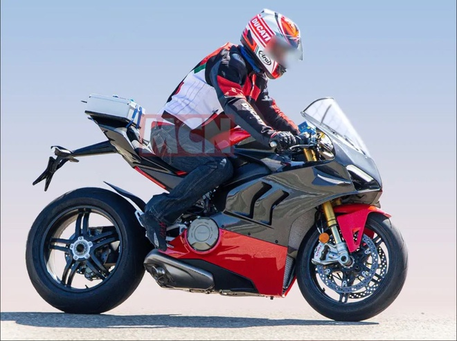 Moto sieu nhe Ducati V4 Superleggera chuan bi ra mat hinh anh 1