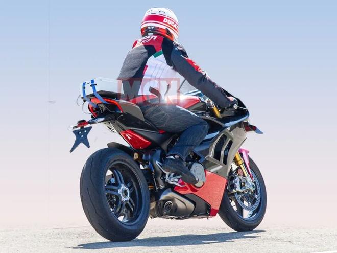 Moto sieu nhe Ducati V4 Superleggera chuan bi ra mat hinh anh 2