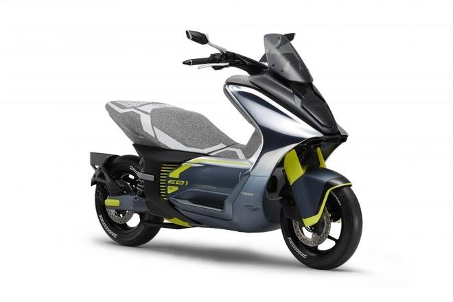 Yamaha sap ra xe tay ga dien, cong suat 50 cc va 125 cc hinh anh 1
