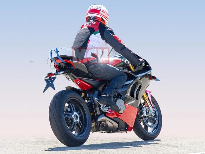 Ducati V4 Superleggera - sieu moto manh 234 ma luc, nang 161 kg hinh anh 2
