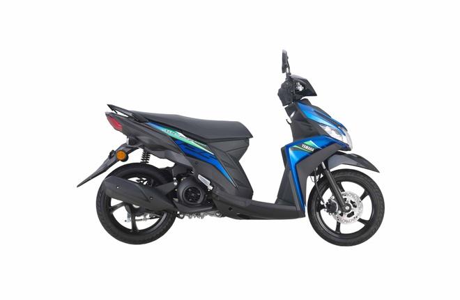Yamaha Mio phien ban moi ra mat - xe ga nho voi dong co 125 cc hinh anh 4 Blue1.jpg