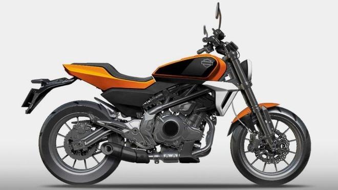 Harley-Davidson chuan bi ra mat moto 350 cc su dung dong co Benelli anh 1