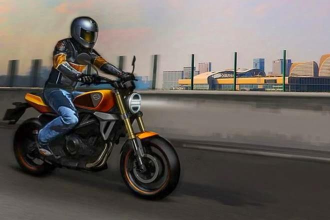 Harley-Davidson chuan bi ra mat moto 350 cc su dung dong co Benelli anh 2