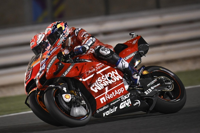 Chang dau tien MotoGP bi huy do virus anh 2