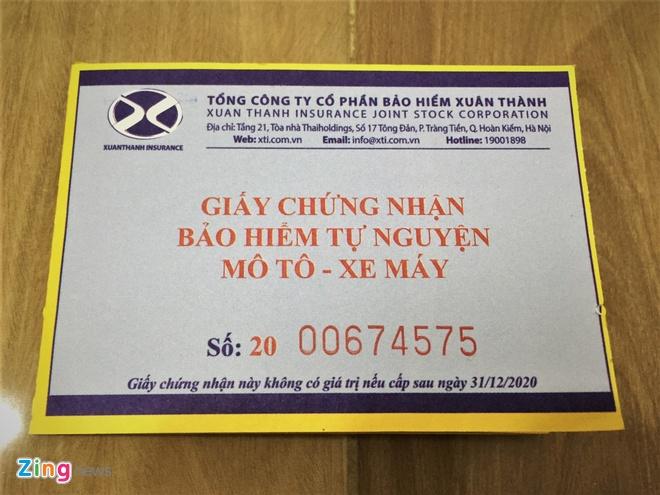 Khong mang bao hiem xe may co duoc dong phat tai cho? hinh anh 1 xemay_zing.jpg