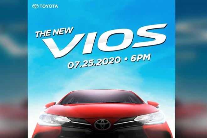Toyota Vios sap co phien ban nang cap - dung den LED,  doi kieu dang anh 1