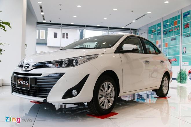 Toyota Vios sap co phien ban nang cap - dung den LED,  doi kieu dang anh 2