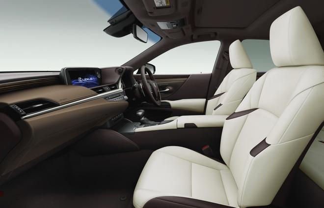 Ra mat Lexus ES 2020 - guong chieu hau dien tu,  bo sung cong nghe anh 4