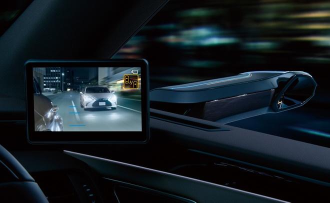Ra mat Lexus ES 2020 - guong chieu hau dien tu,  bo sung cong nghe anh 2