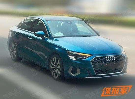 Lo dien Audi A3 phien ban truc co so keo dai,  trang bi dong co 1.5L anh 1