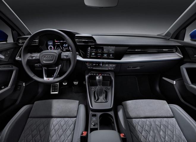 Lo dien Audi A3 phien ban truc co so keo dai,  trang bi dong co 1.5L anh 3