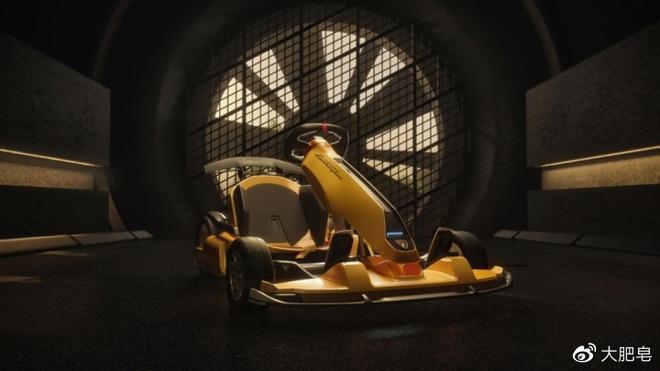 Xiaomi ket hop cung Lamborghini san xuat xe dua go-kart anh 4