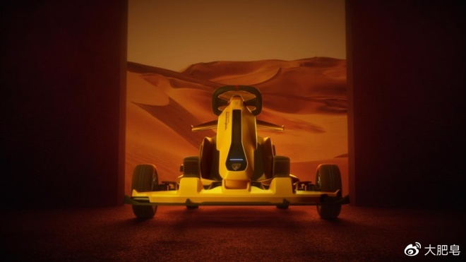 Xiaomi ket hop cung Lamborghini san xuat xe dua go-kart anh 5