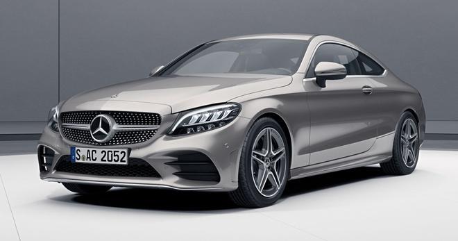Mercedes-Benz C200 Coupe AMG 2020 ra mat Malaysia anh 1