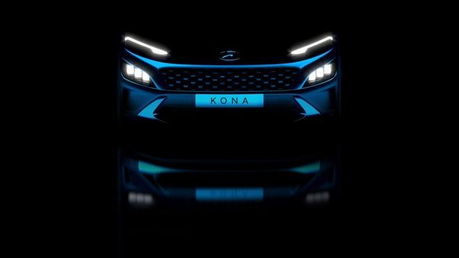 Hyundai Kona sap co phien ban nang cap anh 1