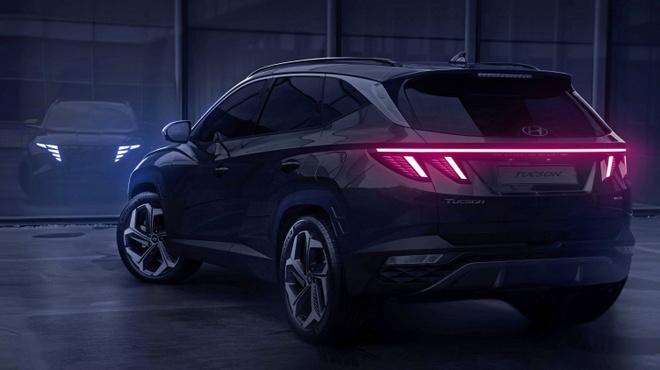 Hyundai Tucson 2021 lo dien voi 2 tuy chon chieu dai co so anh 2