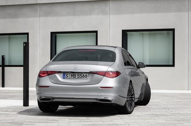 Banh sau cua Mercedes-Benz S-Class 2021 co the danh lai nhu banh truoc anh 2