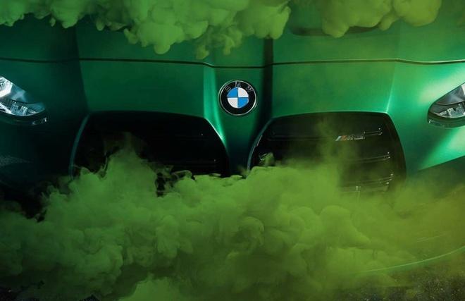 He lo hinh anh chi tiet bo doi BMW M3 va M4 the he moi anh 1