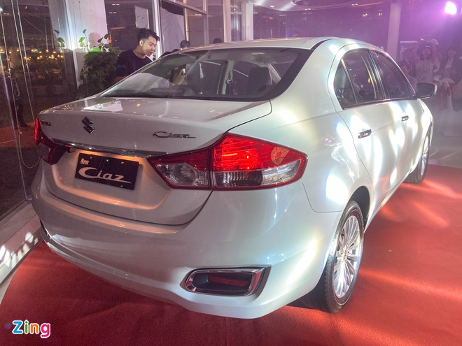 Suzuki Ciaz 2020 duoc ra mat tai VN gia 529 trieu dong anh 2