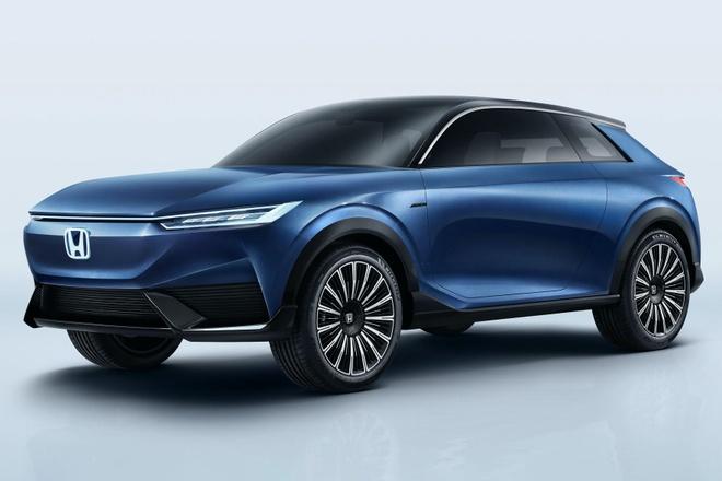Honda gioi thieu concept SUV chay dien hoan toan hinh anh