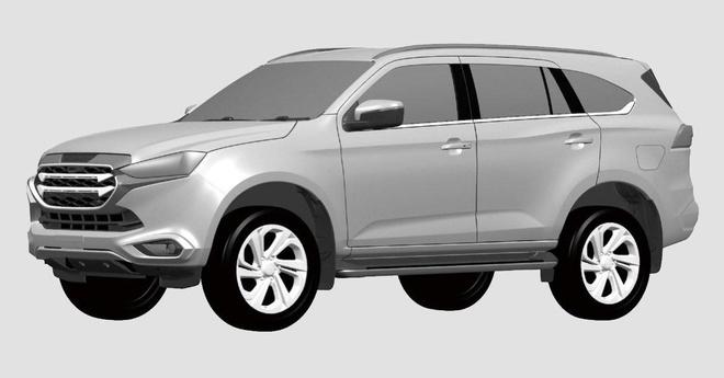 SUV Isuzu mu-X the he moi bi lo ban ve phac thao anh 1