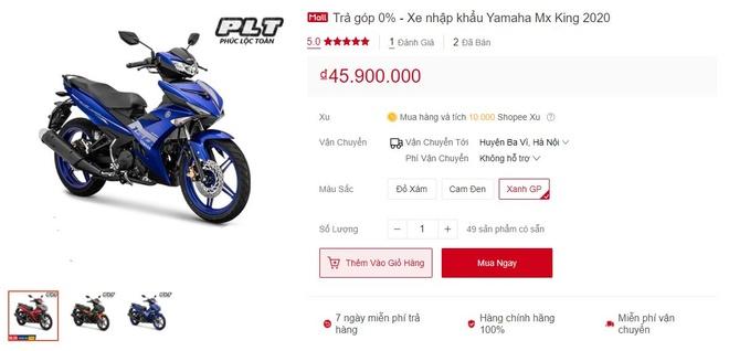 Loan gia ban Yamaha Exciter 150 tai nhieu cua hang anh 3