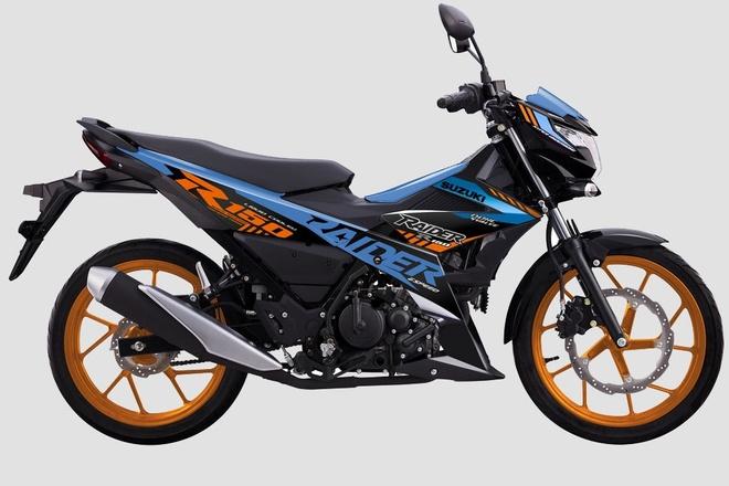 Suzuki Raider R150 2021 duoc ra mat tai Viet Nam hinh anh