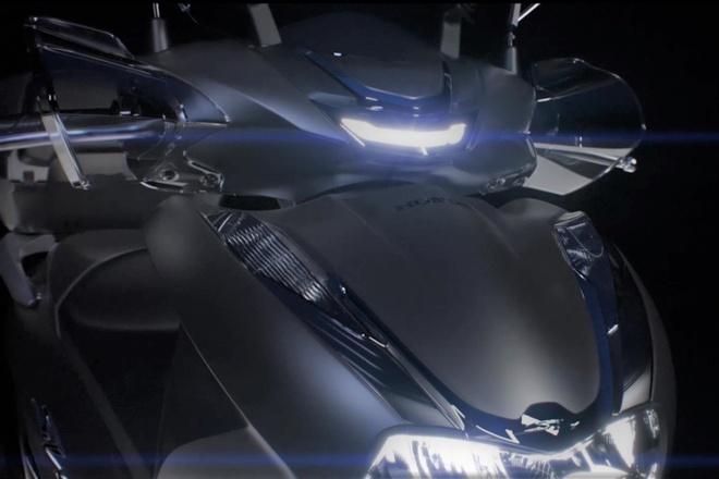 Honda SH 350i sap duoc ra mat hinh anh
