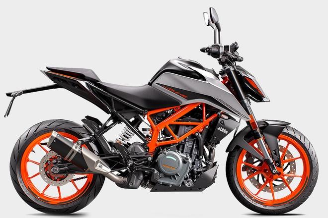 KTM 390 Duke doi 2021 duoc ra mat tai Anh hinh anh