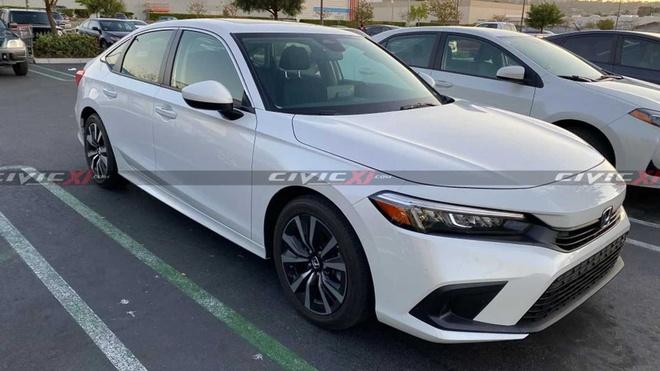 Honda Civic 2022 lo anh thuc te anh 1